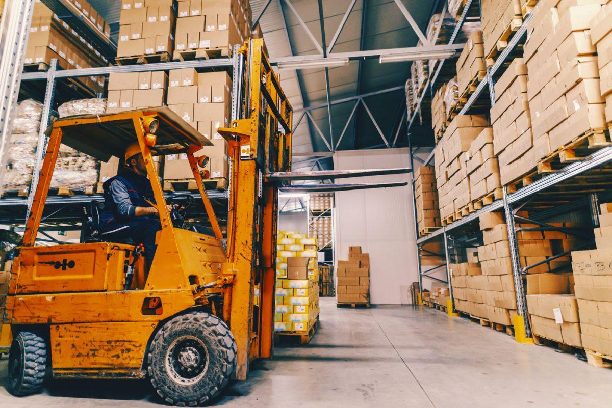 Intelligens targoncamenedzsment a logisztikában
